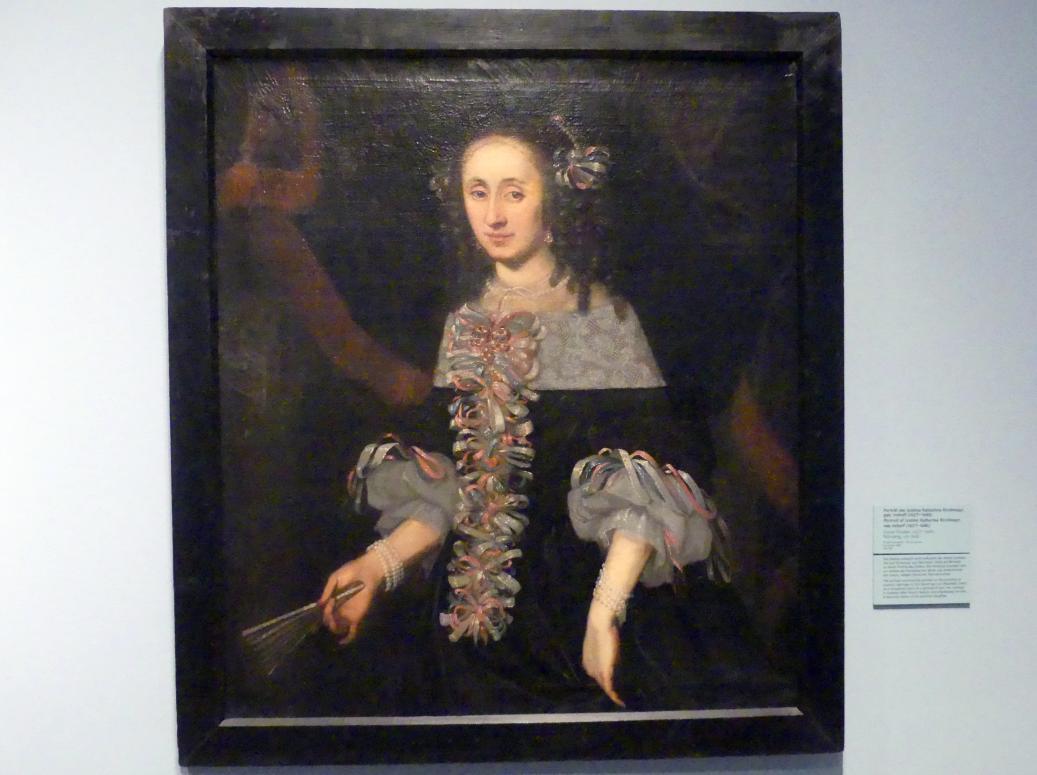 Daniel Preissler: Porträit der Justina Katharina Kirchmayr, geb. Imhoff (1627-1686), Um 1660