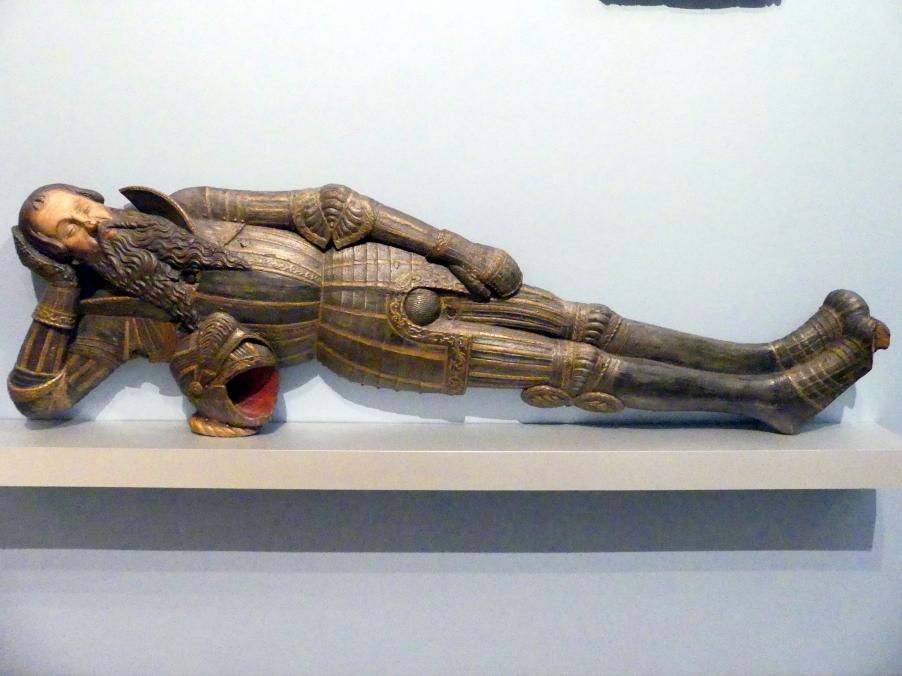 Pankraz Labenwolf (Werkstatt): Gussmodell der Grabfigur des Nikolaus Herburt-Odnowski (gest. 1555) im Dom zu Lemberg, um 1550 - 1551
