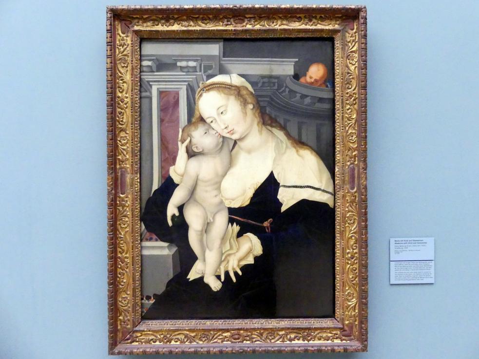 Hans Baldung Grien: Maria mit Kind und Edelsteinen, 1530
