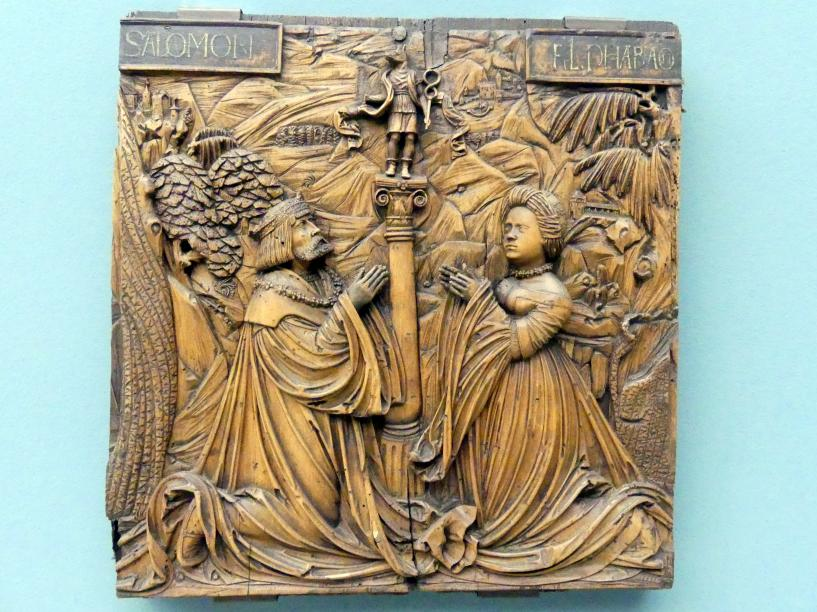 Hans Thoman: Salomons Götzendienst, Um 1525 - 1530
