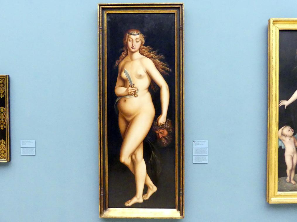 Hans Baldung Grien: Judith mit dem Haupt des Holofernes, 1525