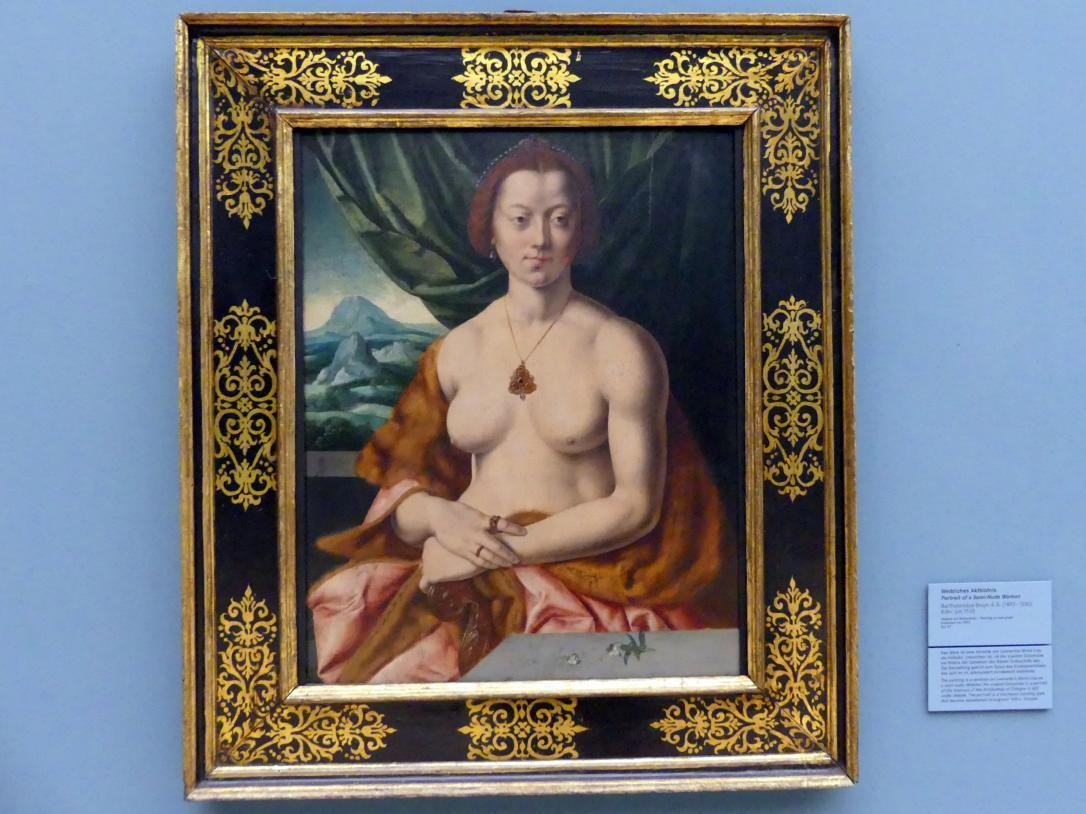Bartholomäus Bruyn der Ältere: Weibliches Aktbildnis, um 1535