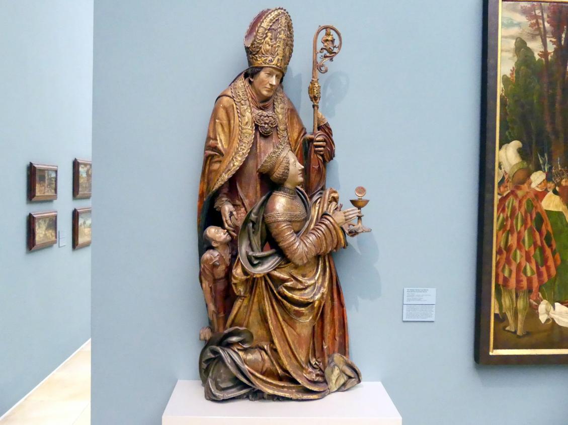 Hans Thoman: Die hll. Barbara und Martin, Um 1515 - 1520