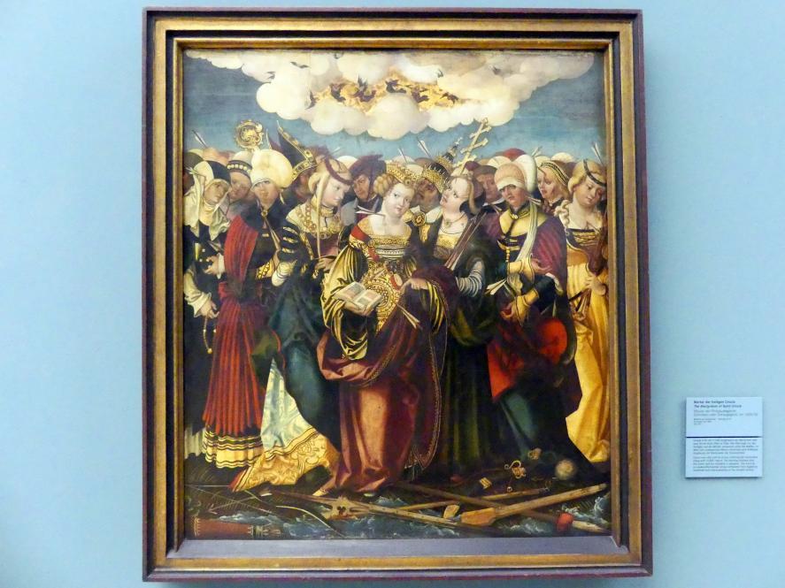 Meister der Philippuslegende: Marter der heiligen Ursula, Um 1520 - 1530