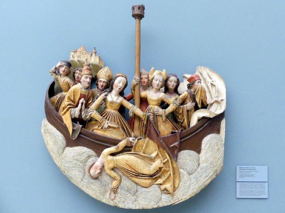 Meister der geschürzten Lippen: Martyrium der hl. Ursula, um 1510
