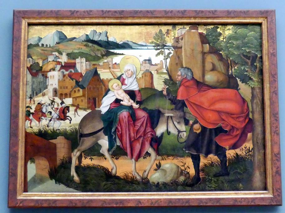 Jörg Breu der Ältere: Flucht nach Ägypten, 1501