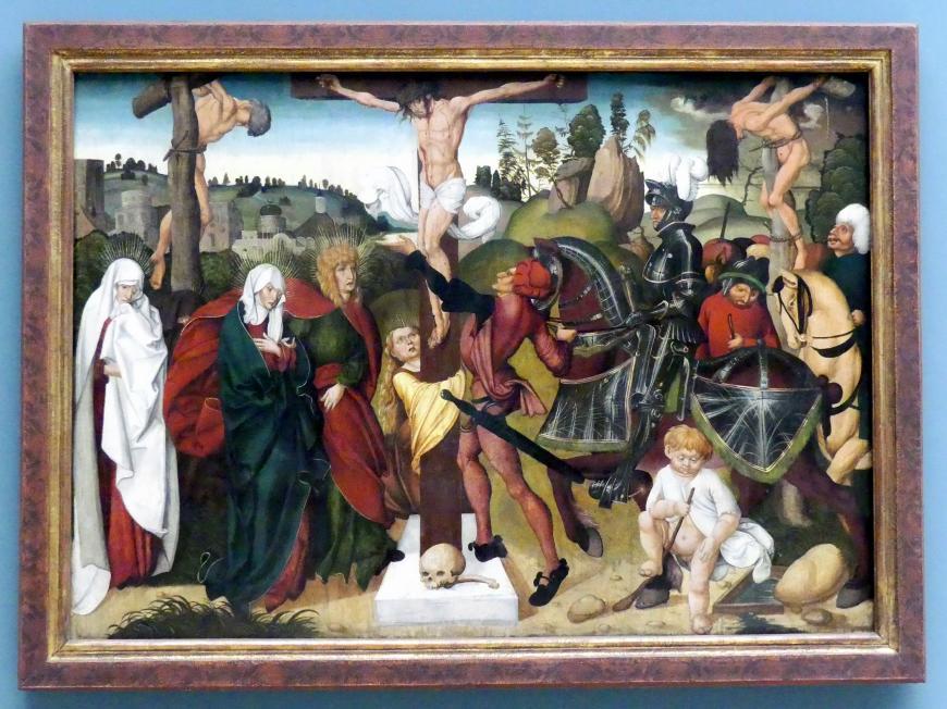 Jörg Breu der Ältere: Kreuzigung Christi, 1501