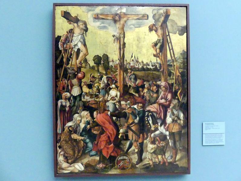 Jörg Breu der Ältere: Kreuzigung Christi, um 1520