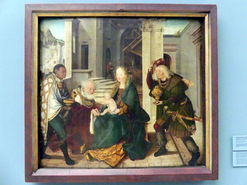 Martin Schaffner: Anbetung der Heiligen Drei Könige, um 1512 - 1514