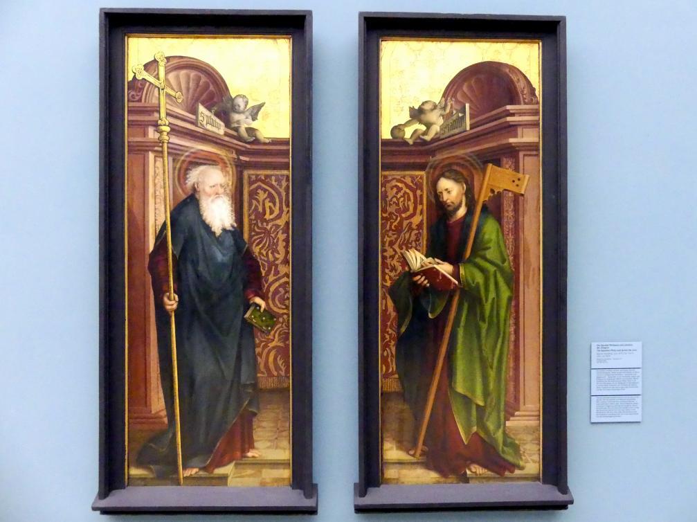 Martin Schaffner: Die Apostel Philippus und Jakobus der Jüngere, Um 1520