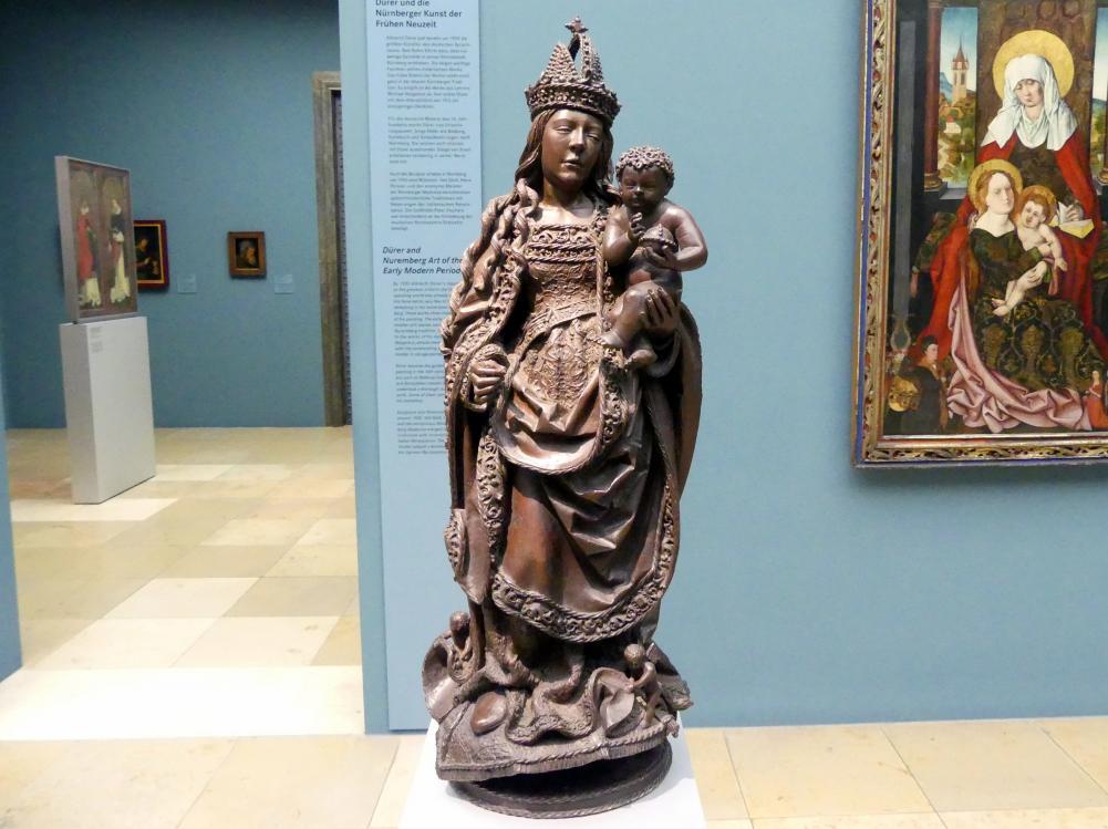 Leonhard Magt: Muttergottes des Melchior Pfintzing, vor 1518, Bild 1/6