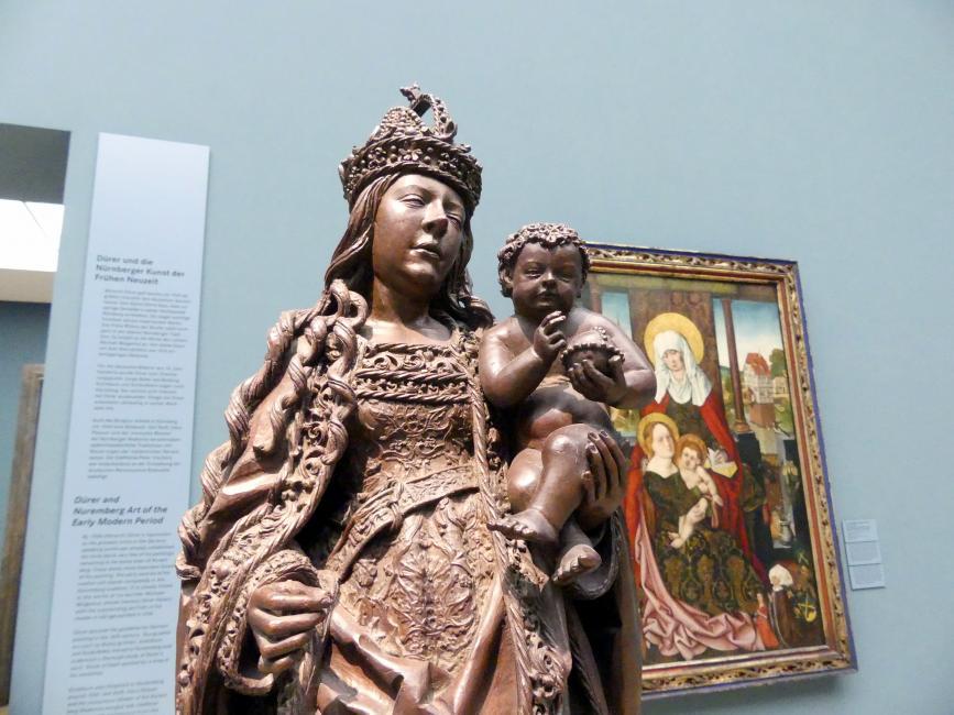 Leonhard Magt: Muttergottes des Melchior Pfintzing, vor 1518, Bild 3/6