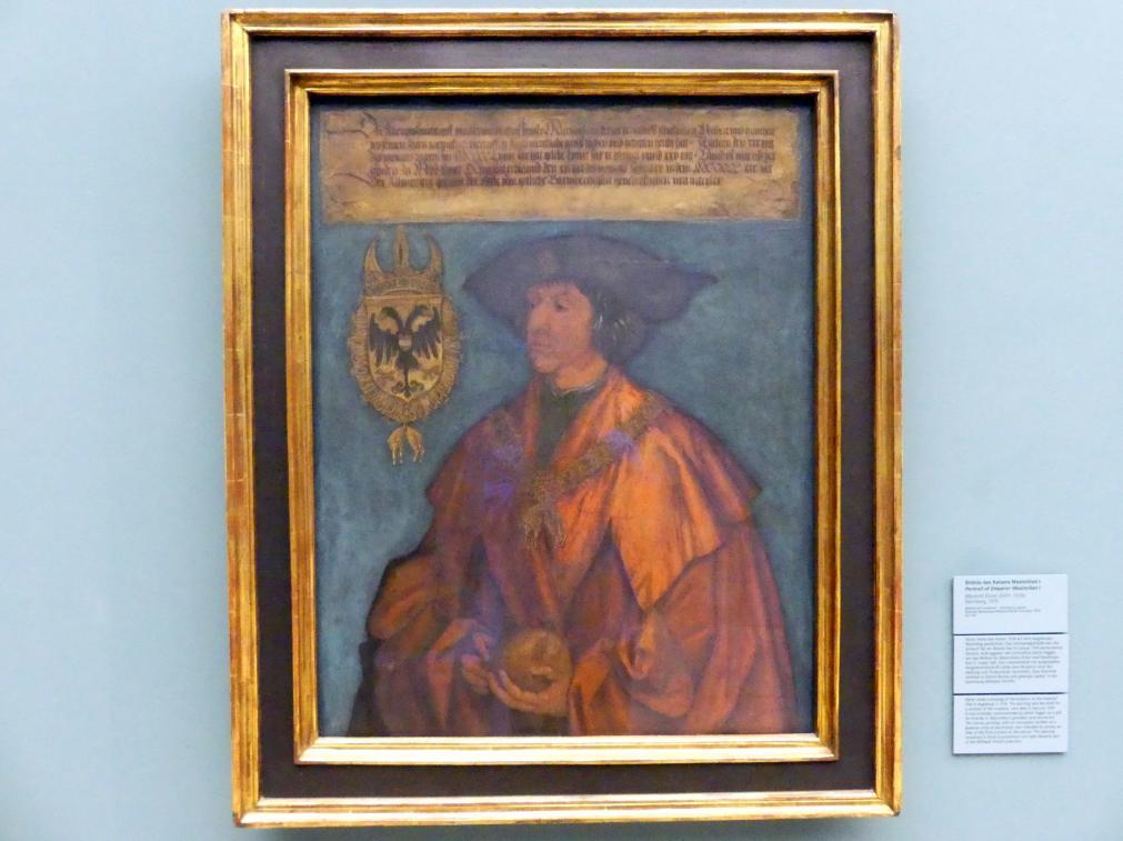 Albrecht Dürer: Bildnis Kaiser Maximilians I., 1519