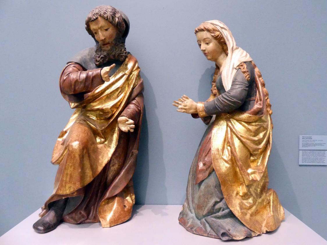 Hans Peisser: Maria und Josef, um 1522 - 1524