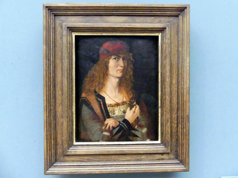 Jakob Elsner: Bildnis eines Bräutigams, Um 1498