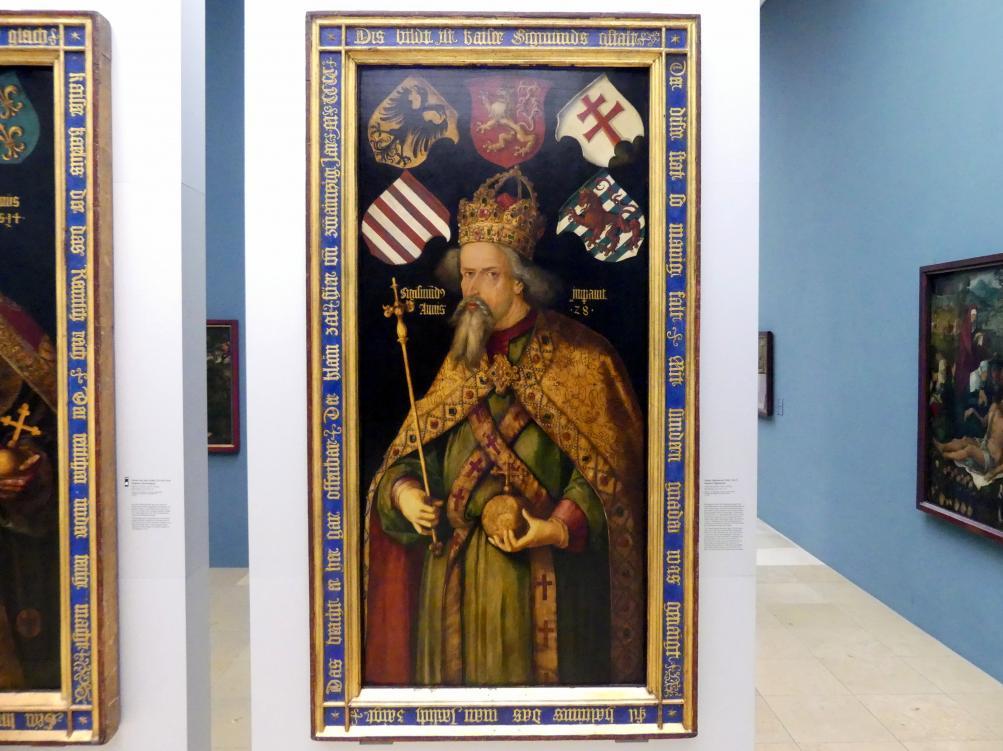 Albrecht Dürer: Kaiser Sigismund, um 1511 - 1513