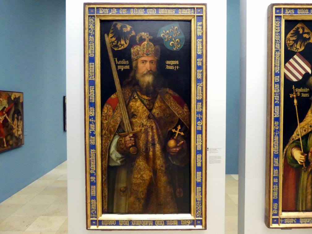 Albrecht Dürer: Kaiser Karl der Große, Um 1511 - 1513
