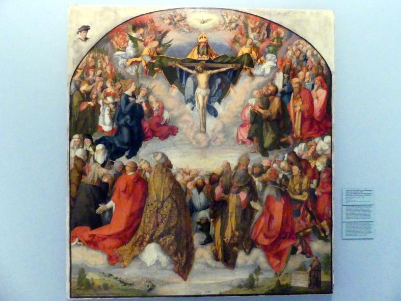 Maria Schöffmann: Kopie nach Albrecht Dürers Allerheiligenbild für den Landauer Altar, 1891