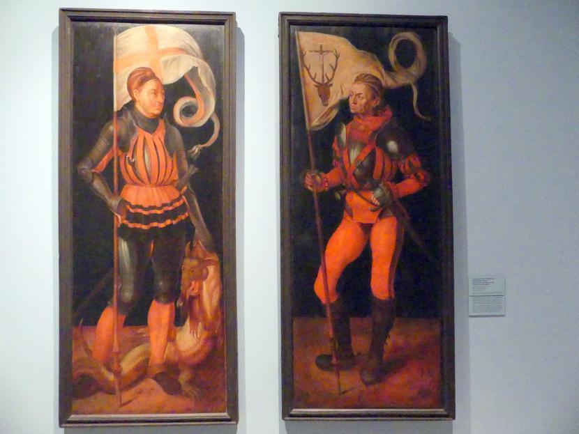 Jobst Harrich: Zwei Flügel des Paumgartner-Altars, Kopie nach Albrecht Dürer, 1613