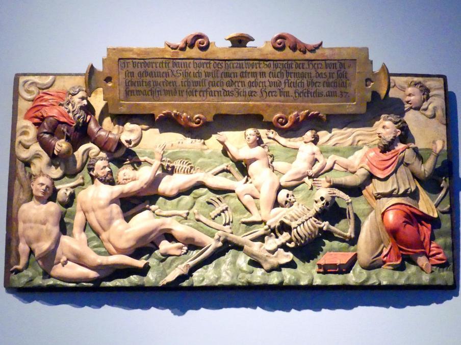 Vision des Ezechiel, Um 1590