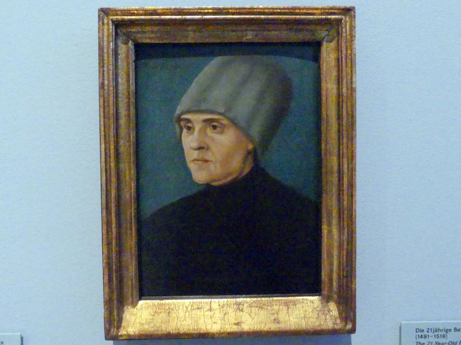 Hans Burgkmair der Ältere: Die 21-jährige Betrügerin Anna Laminit (1481-1518), 1502 - 1503