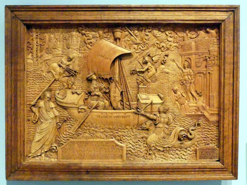 Peter Dell der Ältere: Allegorie des christlichen Heilswegs, 1534