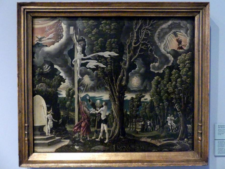 Georg Lemberger: Sündenfall und Erlösung, 1535