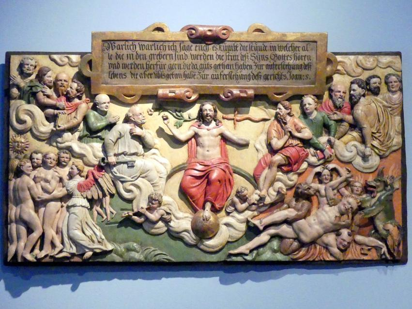 Das Jüngste Gericht, Um 1590