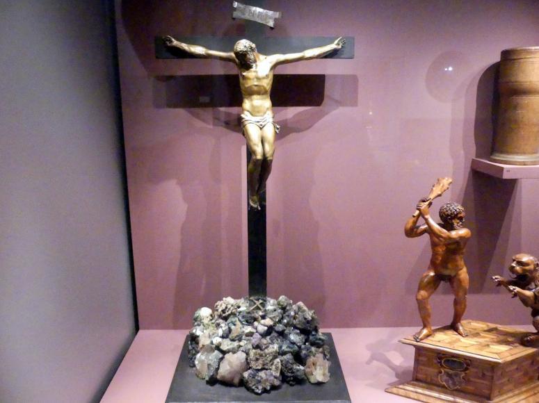 Johann Gregor van der Schardt: Kruzifix auf Mineralienberg, Um 1570 - 1580