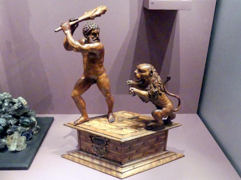 Herkules im Kampf mit dem nemeischen Löwen, Um 1580