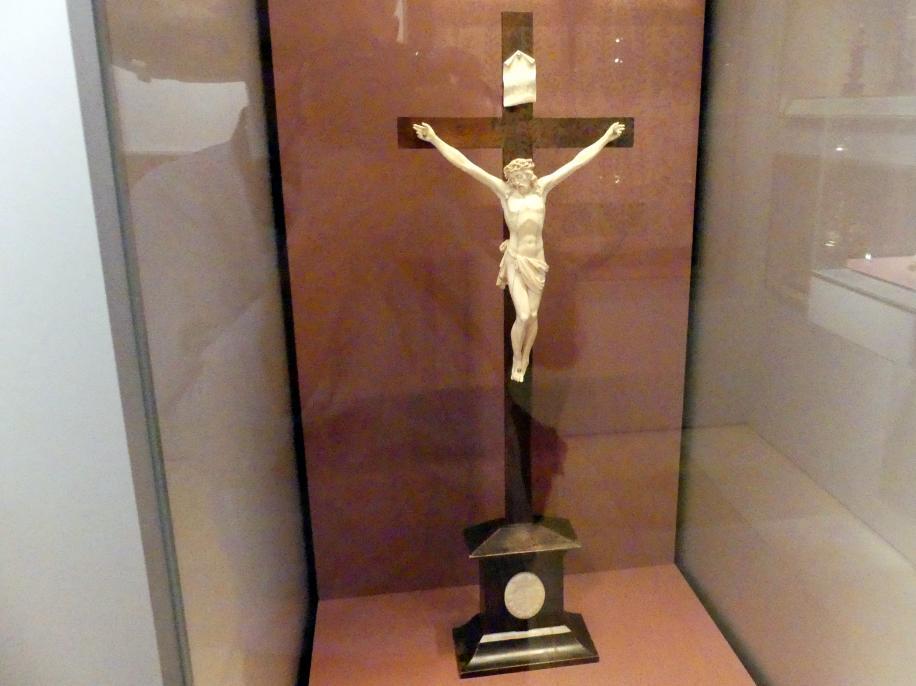 Georg Pfründt (Umkreis): Kruzifix, Mitte 17. Jhd.