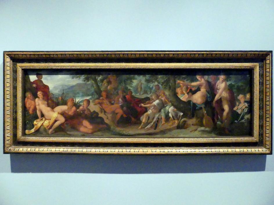 Bartholomäus Spranger: Wettstreit zwischen Apollo und Pan, 1587