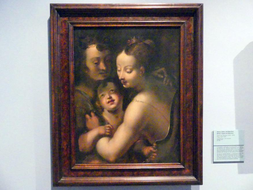 Hans von Aachen: Venus, Amor und Bacchus, Nach 1597