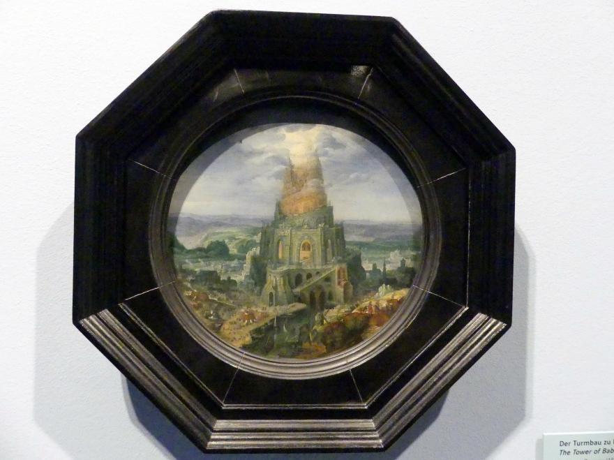 Roelant Savery: Der Turmbau zu Babel, 1602