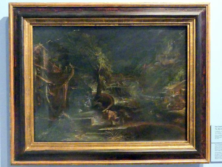 Frederik van Valckenborch: Das Gewitter, um 1621