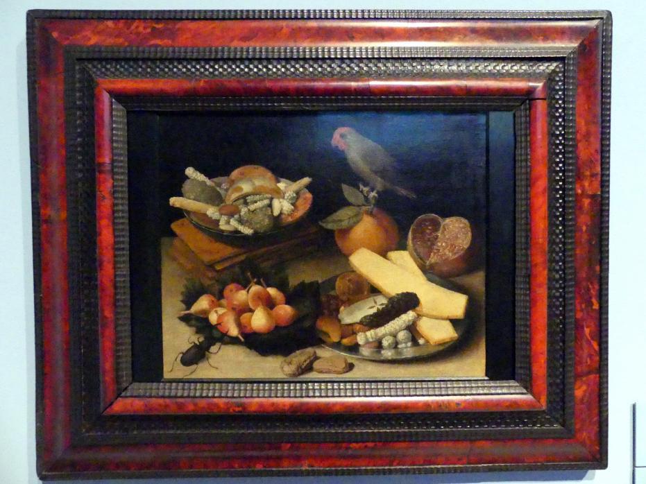 Georg Flegel: Stillleben mit Obst und Backwaren, Um 1615