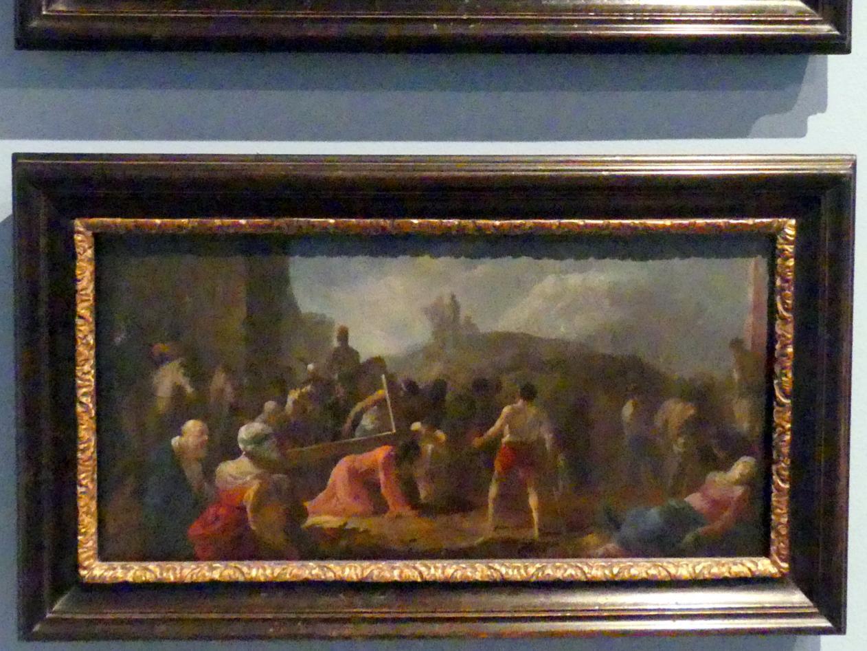 Johann Heinrich Schönfeld: Kreuztragung Christi, um 1650