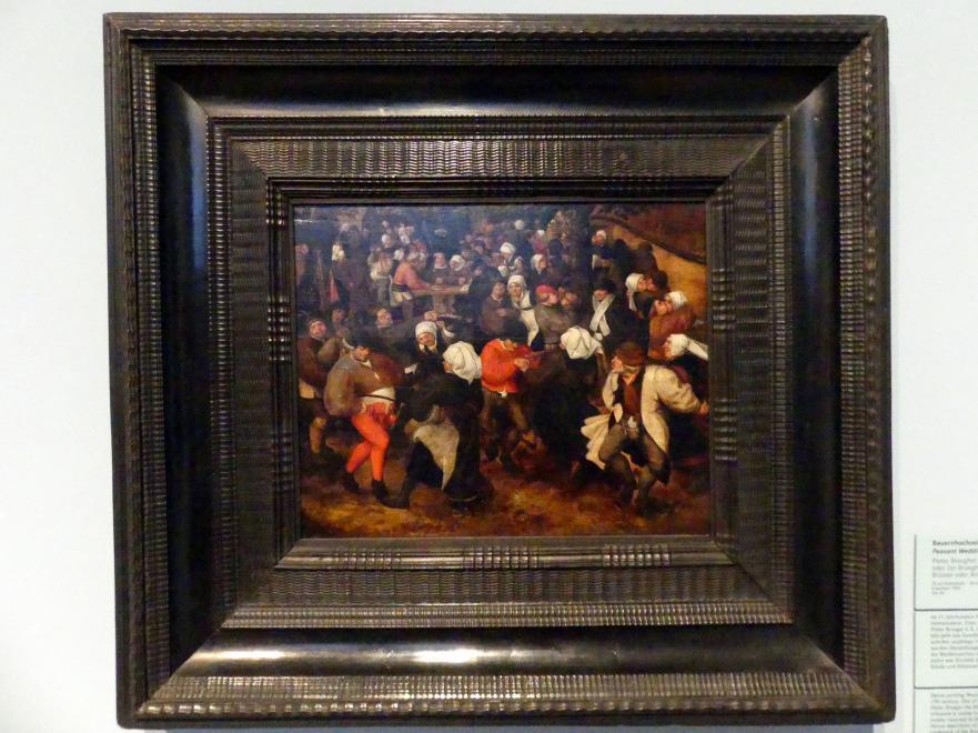 Pieter Brueghel der Jüngere (Höllenbrueghel): Bauernhochzeit im Freien, Um 1590
