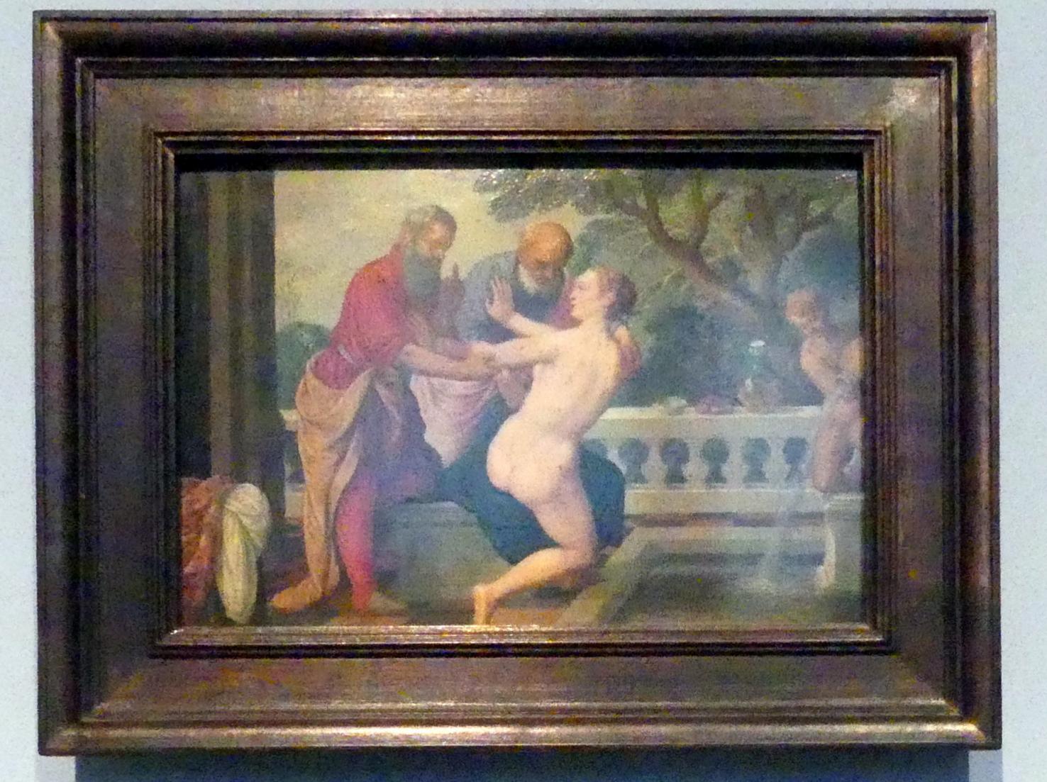 Johann König: Susanna und die beiden Alten, um 1625