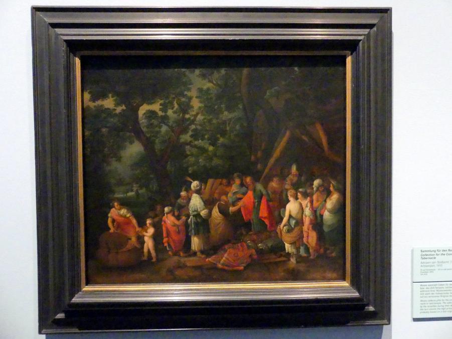 Adriaen van Stalbemt: Sammlung für den Bau der Stiftshütte, 1610