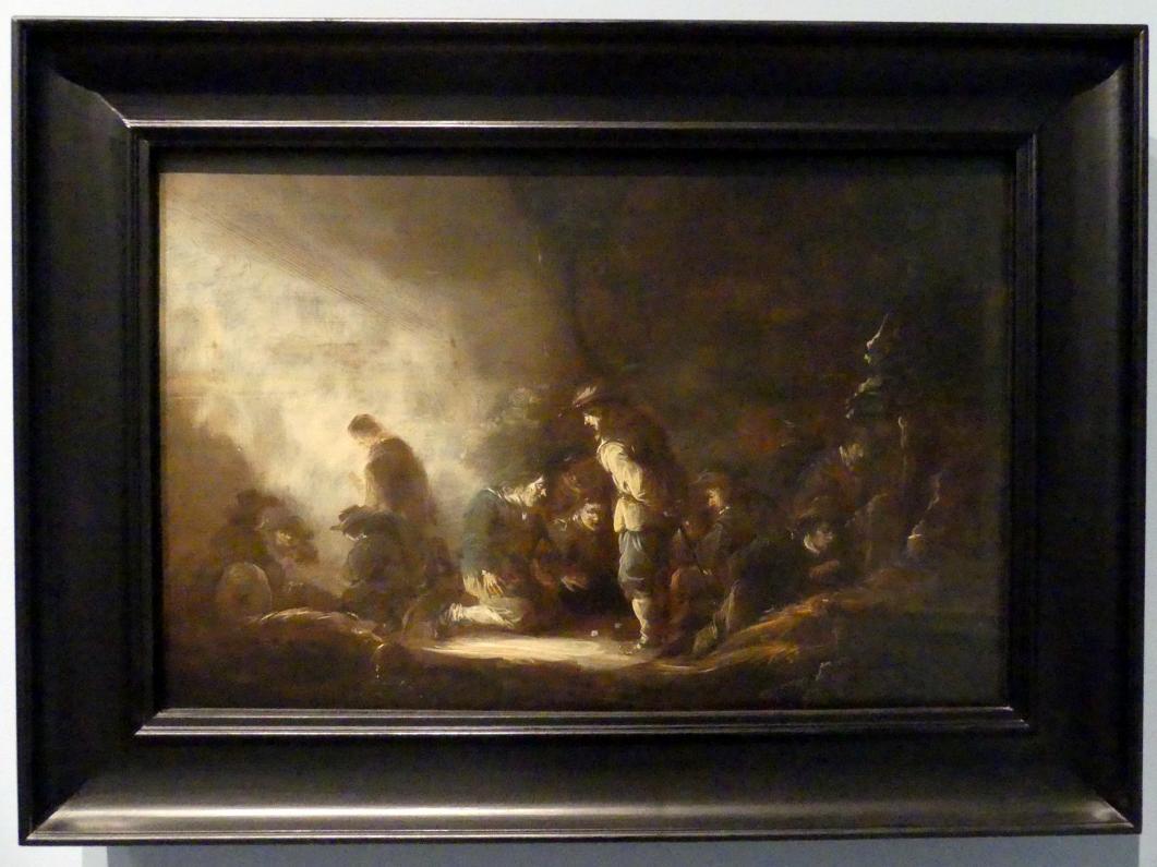 Benjamin Gerritsz. Cuyp: Sodaten beim Würfelspiel, Um 1635 - 1640