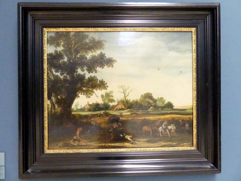 Esaias van de Velde: Überfall auf einen Wagentransport, 1626