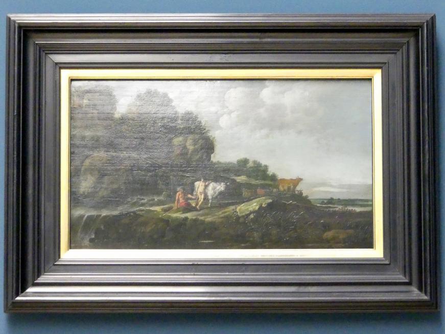 Moyses van Wtenbrouck: Landschaft mit Merkur, Argus und Io, Undatiert
