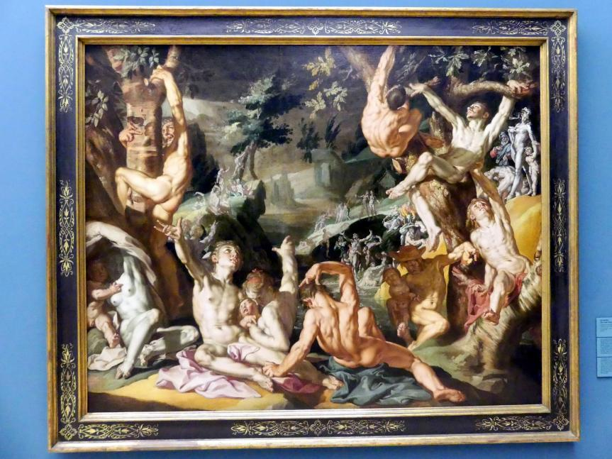 Joachim Anthonisz. Wtewael: Die Sintflut, um 1590 - 1600