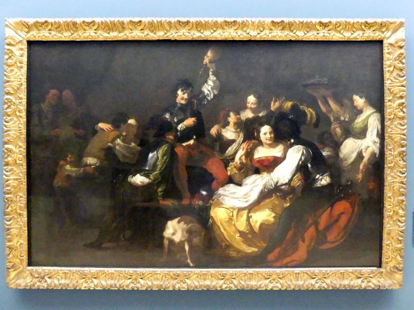 Johann Liss: Der verlorene Sohn bei den Dirnen, Um 1622 - 1623