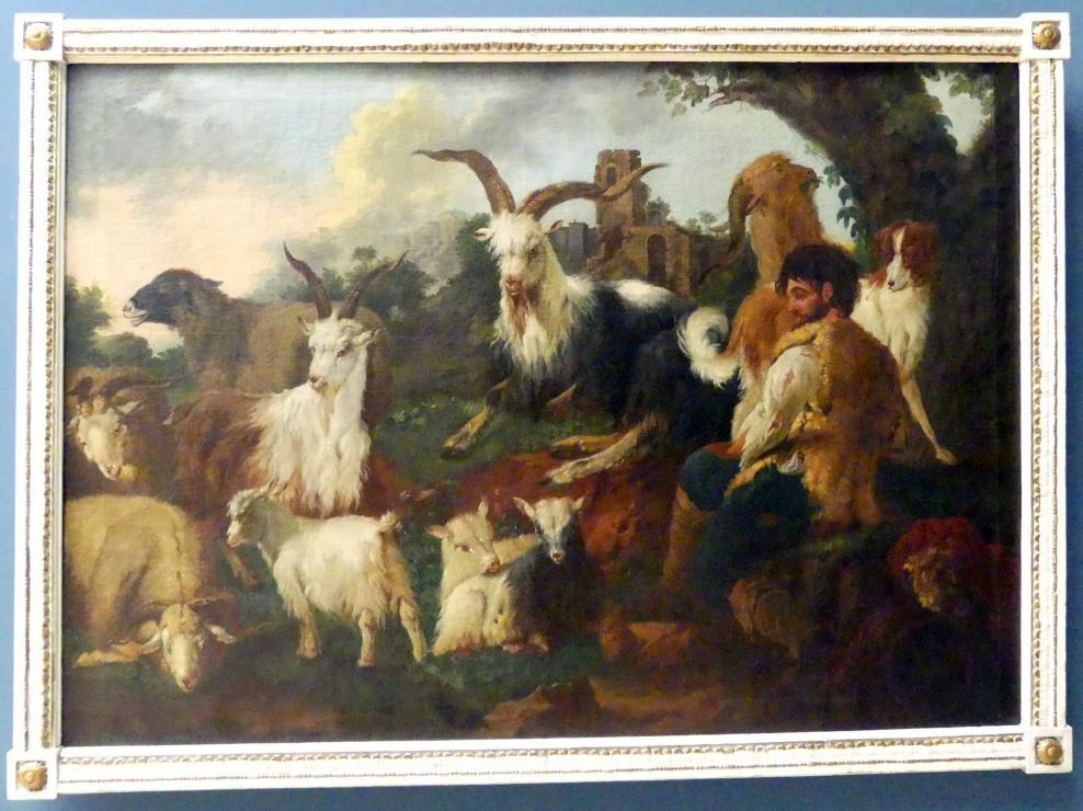 Philipp Peter Roos: Hirte mit Ziegenherde, Um 1690 - 1700