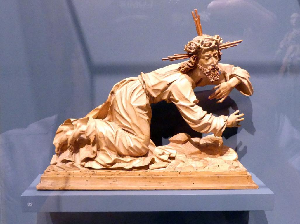 David Zürn I.: Christus fällt unter dem Kreuz, Um 1615