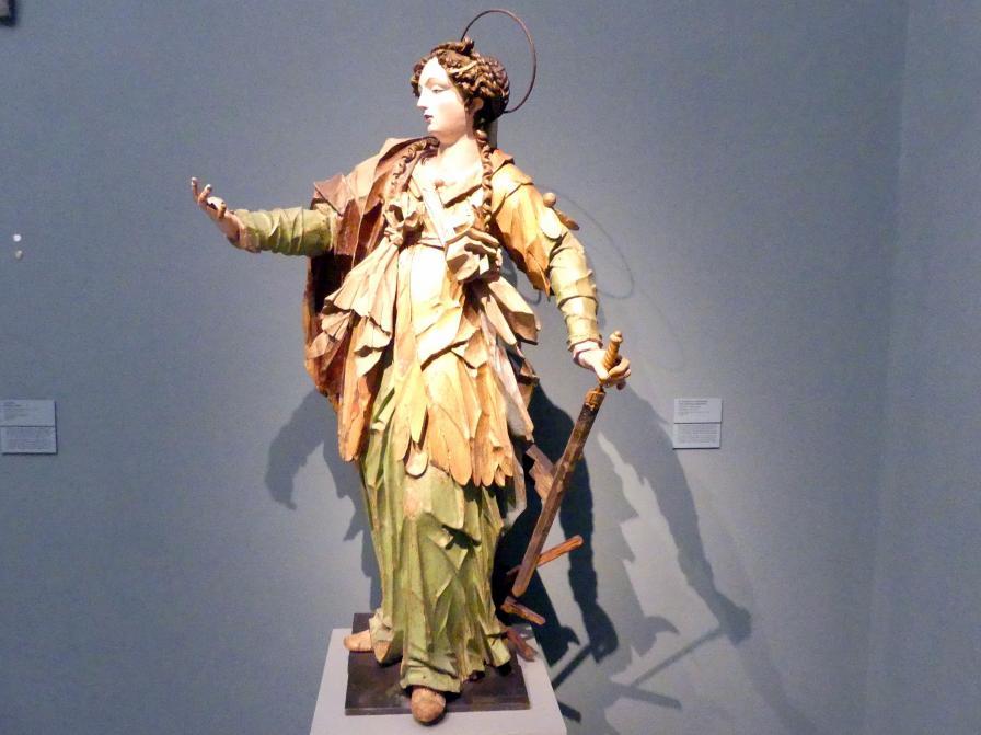 David Zürn I.: Hl. Katharina von Alexandrien, um 1625