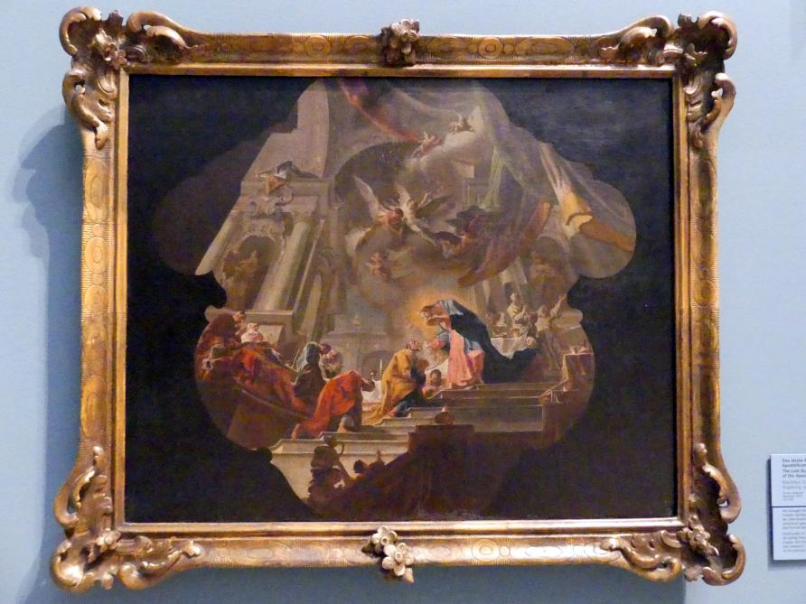 Matthäus Günther: Das letzte Abendmahl oder Apostelkommunion, um 1745 - 1750