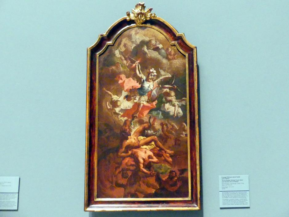 Michelangelo Unterberger: Engelsturz, Um 1751